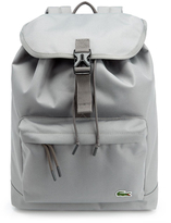 Lacoste Flap Backpack Grey