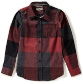 First Wave Big Boys 8-20 Plaid Flannel Button-Down Shirt