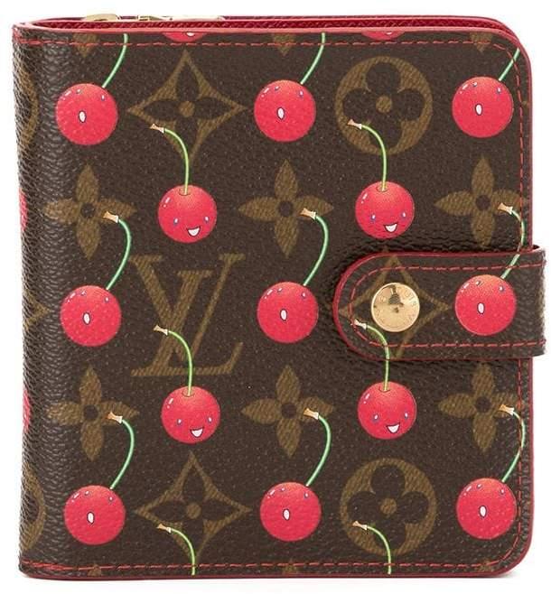 bebe530156b Louis Vuitton Pre-Owned x Cherry Blossom monogram wallet