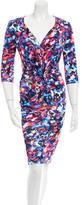 Saloni Printed Mariana Dress w/ Tags