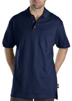 Dickies Men's Big & Tall Short-Sleeve Mini-Pique Polo Shirt