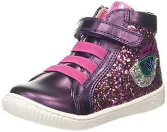 Agatha Ruiz De La Prada Girls' 191946 Ankle Boots, Purple ((Glitter) Paprika)