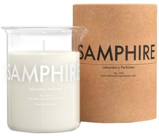 Laboratory Perfumes Samphire Scented Luxury Candle In A Clear Glass Beaker - Glass