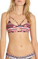 Billabong Women's Last Tribe Strappy Bikini Top