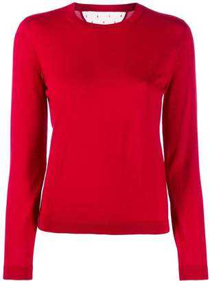 RED Valentino long sleeve knitted top