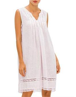120% Lino 120 Lino S/L Flip Dress