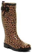 Chooka Lavish Leopard Waterproof Rain Boot