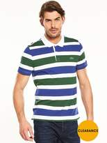 Lacoste Sport Contrast Stripe Polo