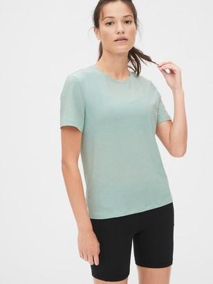 Gap GapFit Breathe Wrap-Back Crewneck T-Shirt