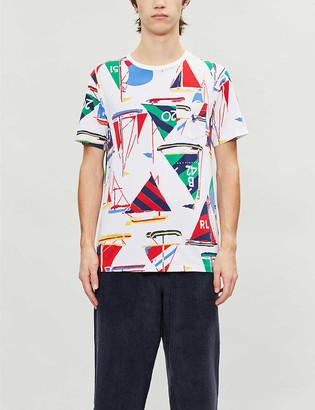 Polo Ralph Lauren Graphic-print cotton-jersey T-shirt
