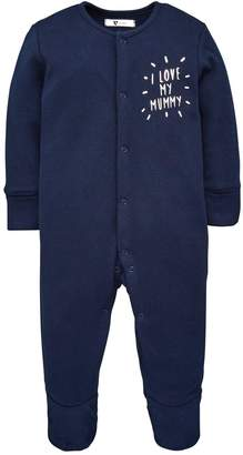 Very Baby Boys I Love My Mummy & Daddy 3 Pack Sleepsuits - Multi