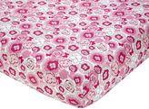 NoJo Butterfly Bouquet Crib Sheet