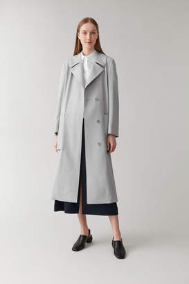 Cos Wool-Mix Trench Coat