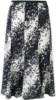 Diane von Furstenberg splattered skirt - women - Silk/Spandex/Elastane - 6