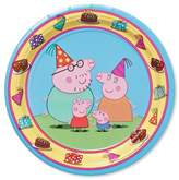 "Cars Peppa Pig 7"" Paper Plates - 8ct"