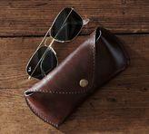Pottery Barn Saddle Leather Eyeglass Case
