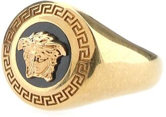 Versace Medusa Embossed Ring
