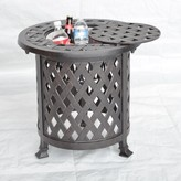 Attaway Metal Side Table Alcott Hill