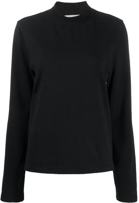 YMC No Wave mock neck top
