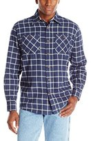 Wrangler Authentics Mens Long-Sleeve Flannel Shirt