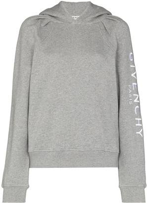 Givenchy x Browns 50 logo-print hoodie