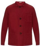 Massimo Alba Patch-pocket Linen And Cotton-blend Jacket