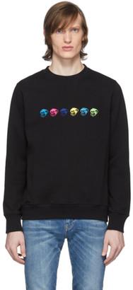 Paul Smith Black Logo Monkies Sweatshirt