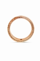 House Of Harlow Etched Mohawk Bangle in Rose Gold