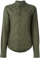 A.F.Vandevorst cropped sleeve shirt