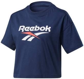 Reebok Cotton Classics Crop T-Shirt