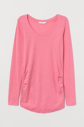 H&M MAMA Jersey Top - Pink