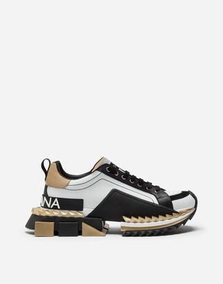 Dolce & Gabbana Multicolor Super King Sneakers