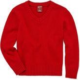 Arizona Long-Sleeve Solid Sweater - Toddler Boys 2t-5t