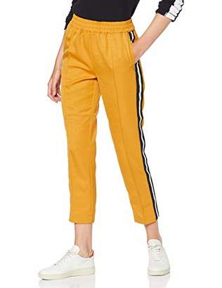 Scotch & Soda Maison Women's Tapered Jogger with Side Stripes Trouser,12 (Size: Medium)