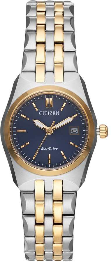 Citizen Eco-Drive Women's Corso Two Tone Stainless Steel Watch - EW2294-53L