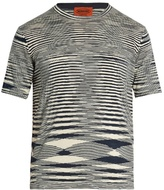 Missoni Striped crew-neck cotton T-shirt