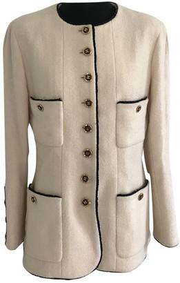Chanel Beige Wool Jackets