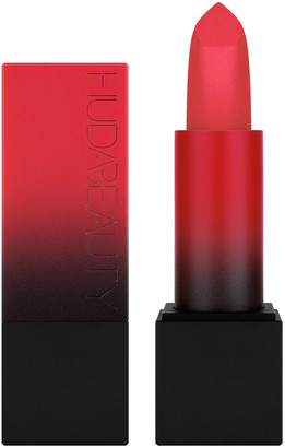 HUDA BEAUTY Power Bullet Matte Lipstick 3G Spring Break (Warm Bright Pink)