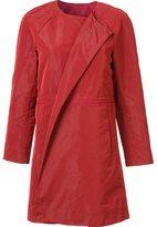 Lafayette 148 - collarless coat - women - Polyester - XL