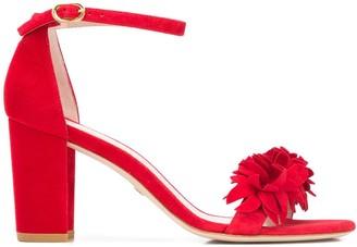Stuart Weitzman Nearly Flower sandals