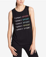 Tommy Hilfiger Graphic Muscle Tank Top, a Macy's Exclusive Style
