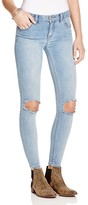 Free People Skinny Destroyed Jeans in Brimm