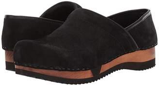 Sanita Rusa (Black) Women's Shoes