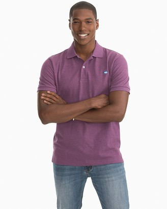 Southern Tide Heathered Skipjack Pique Polo Shirt