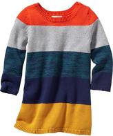 Old Navy Multi-Stripe Knit Scoop Neck Shift Dress for Baby