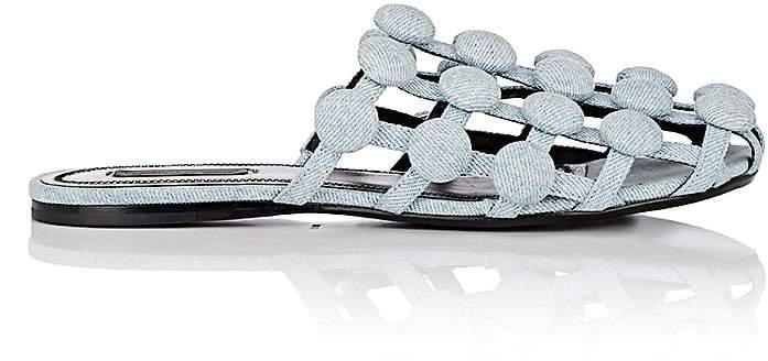 Alexander Wang Women's Amelia Denim Slide Sandals