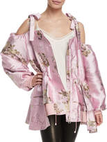 FENTY PUMA by Rihanna Cold-Shoulder Bomber Jacket