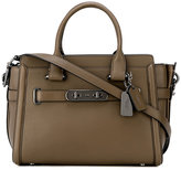 Coach classic satchel - women - Calf Leather - One Size