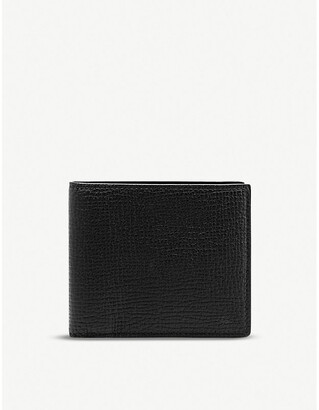 Smythson Grained leather wallet