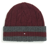 Tommy Hilfiger Cable Knit Beanie